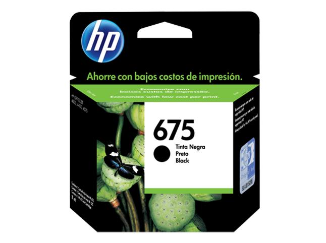 Cartucho HP 675 Negro Original