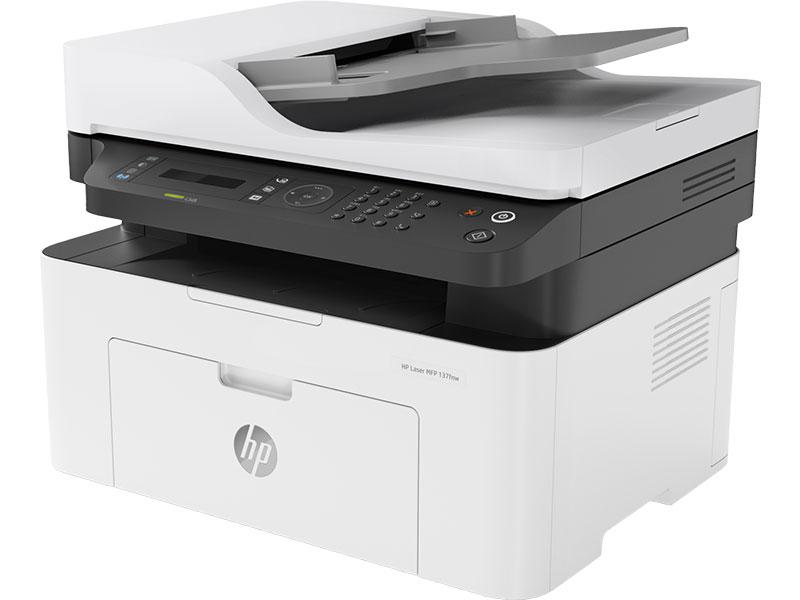 Impresora Multifuncion HP Laser M137fnw